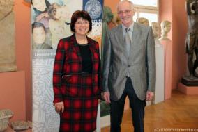Brigitte Mazohl und Christoph Ulf erhielten den Wissenschaftspreis