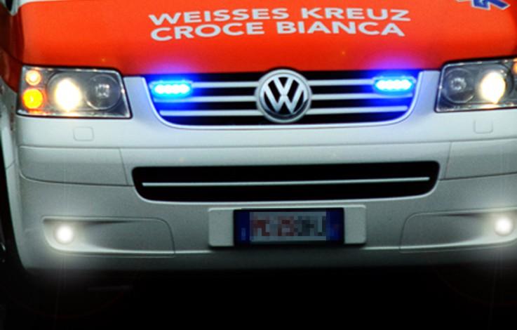 Burggrafenamt: Vespa mit PKW zusammengekracht