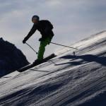 Mädchen beim Skifahren schwer verunglückt