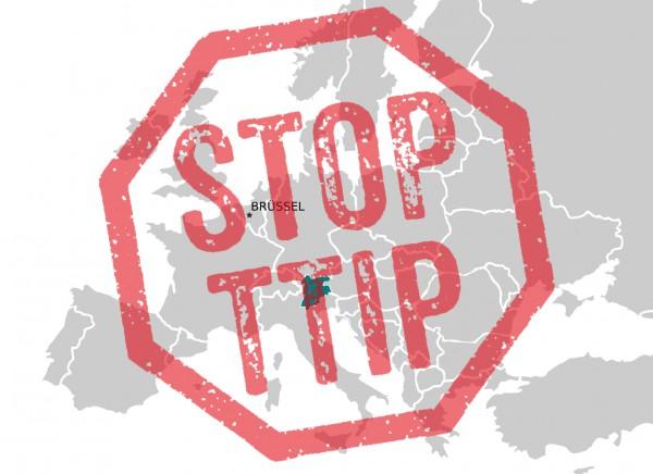 TTIP ist europaweit umstritten. Graphik: UT24