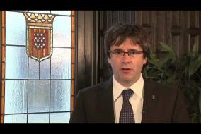 Carles Puigdemont i Casamajó. Bild: Youtube