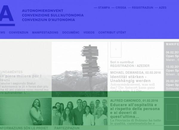 Convenziun d' Autonomia. http://www.konvent.bz.it/lld