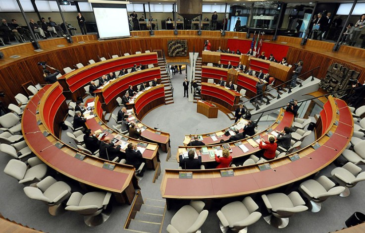 Regionalratssitzungen werden auf ein Mindestmaß reduziert