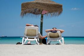 Strand, Sommerurlaub, Mittelmeer, Strandurlaub, Mittelmeerurlaub, Tou