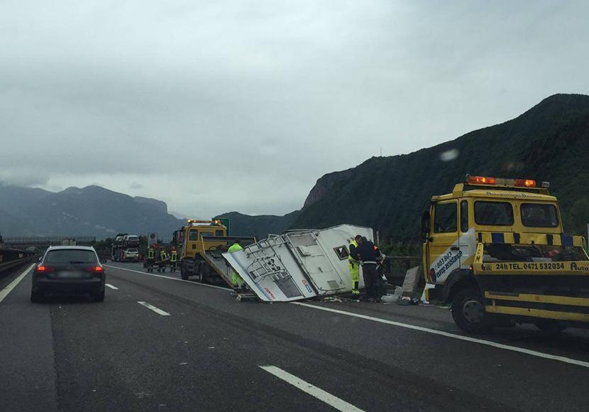 Unfall Brennerautobahn