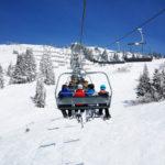 Vier Verletzte bei Serienunfall auf Skilift