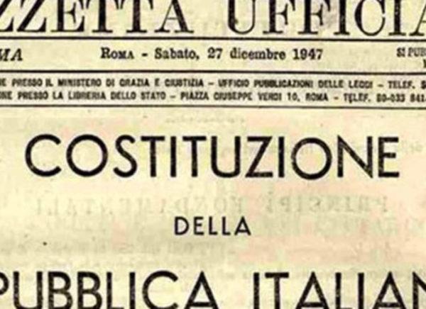 Die italienische Verfassung von 1947.