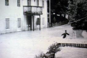 Hochwasser in Innichen 1965. Bild: UT24