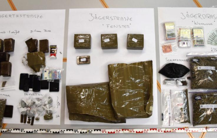 Grazer Polizei findet Drogen im Wert von 300.000 Euro