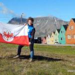 La bandiera del Tirolo alle Svalbard