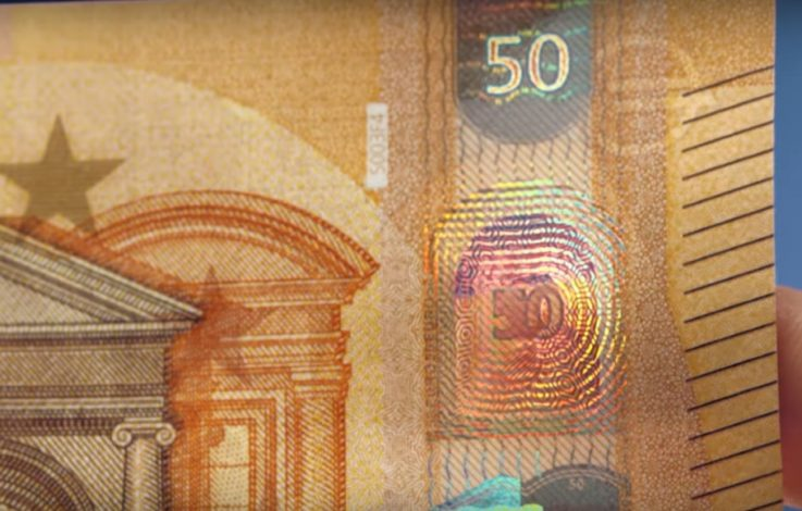 Bald im Geldbeutel: Der neue 50-Euro-Schein kommt