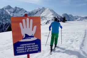 Alpinismus, Freizeit, Tourismus, Lawine
