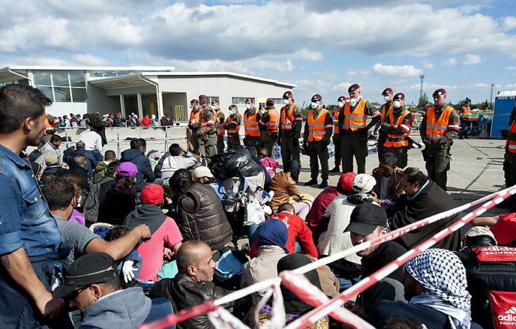 geheimpapier über flüchtlinge