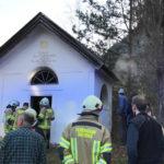 Kapelle in Brand