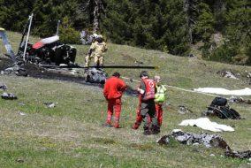 Katastrophen und Unfälle, Notfälle, Luftfahrtunglück, Tirol