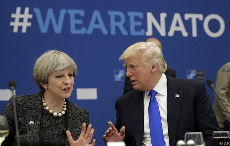 Ratlosigkeit und Sorge nach Trump-Auftritt bei NATO-Gipfel