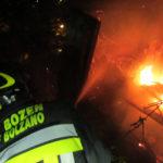 Feuer in Bozen ausgebrochen