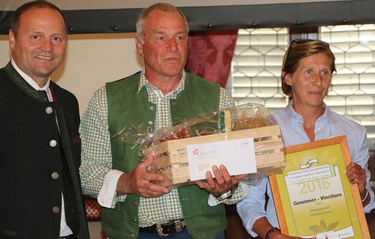 Tourismus-Landwirtschaft-Wettbewerb: Gampe Thaya holt sich den Sieg