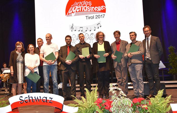 Tirol singt: Rund 2.900 Stimmen beim Landesjugendsingen