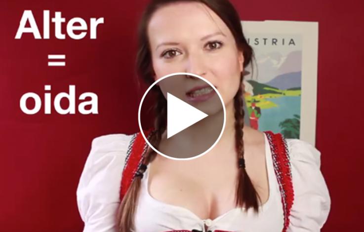 Verrücktes Oida-Video wird Internet-Hit