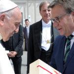 Tiroler Delegation bei Papst Franziskus in Rom