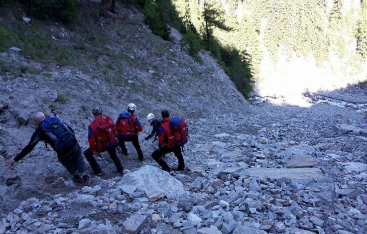 Ahrntal: Wanderer aus misslicher Lage geborgen