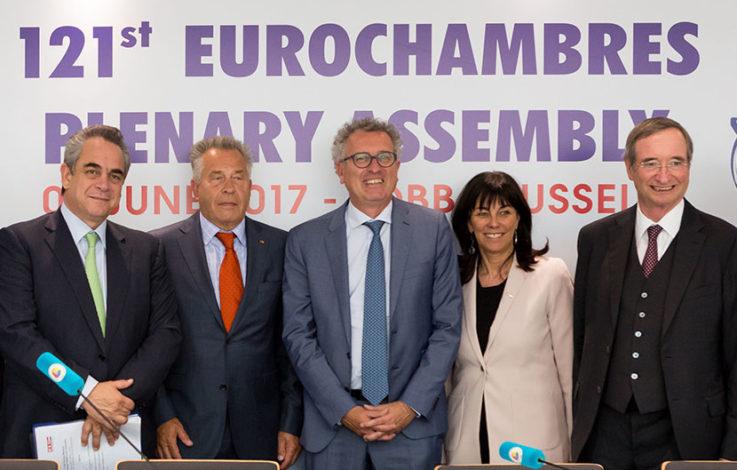 WKÖ-Präsident Leitl als Eurochambres-Präsident nominiert