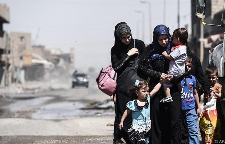 UN: Hunderte tote Zivilisten bei Sturm auf Mossuls Altstadt