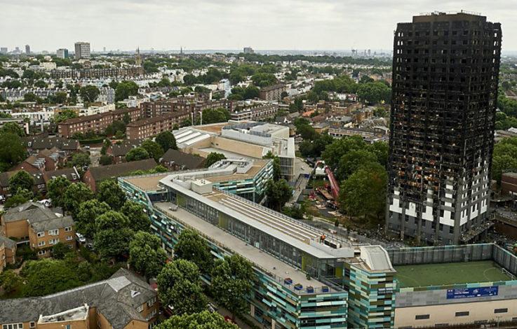 Hochhausbrand in London: Brandursache klar