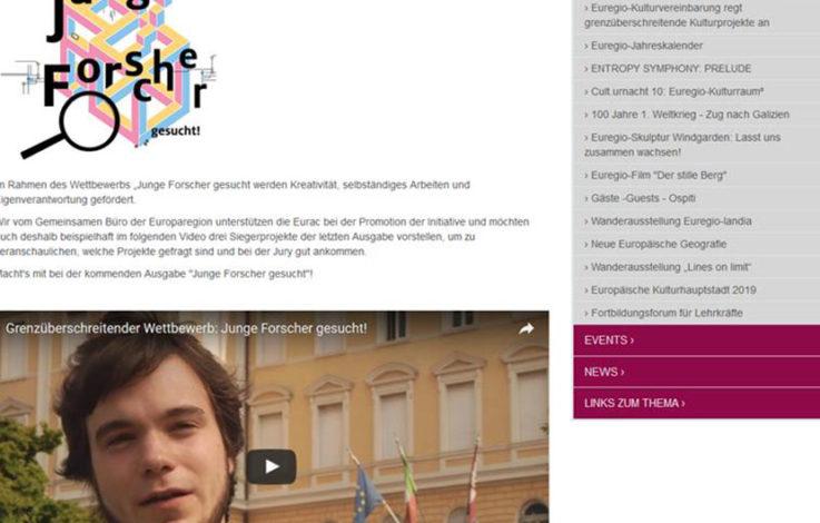 Gesamttiroler Wettbewerb: Junge Forscher gesucht!