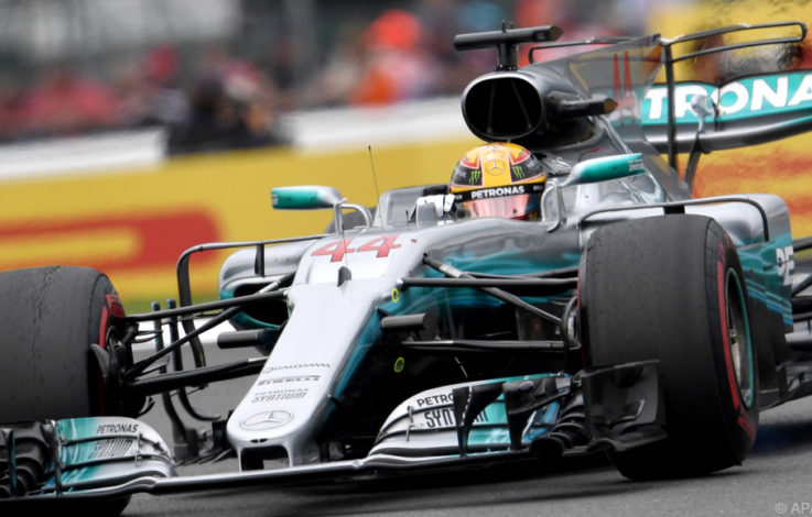 Start-Ziel-Sieg vom Hamilton in Silverstone – Vettel 7.