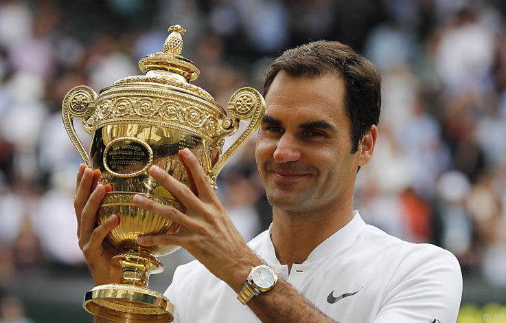 Federer triumphierte zum achten Mal in Wimbledon