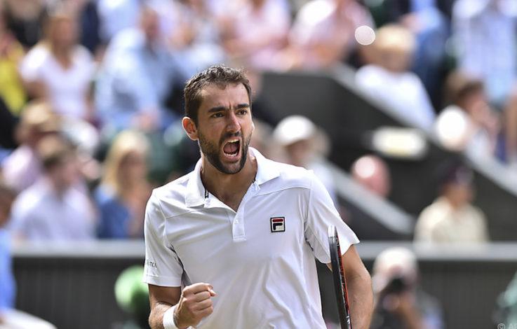 Marin Cilic qualifizierte sich erstmals für Wimbledon-Finale