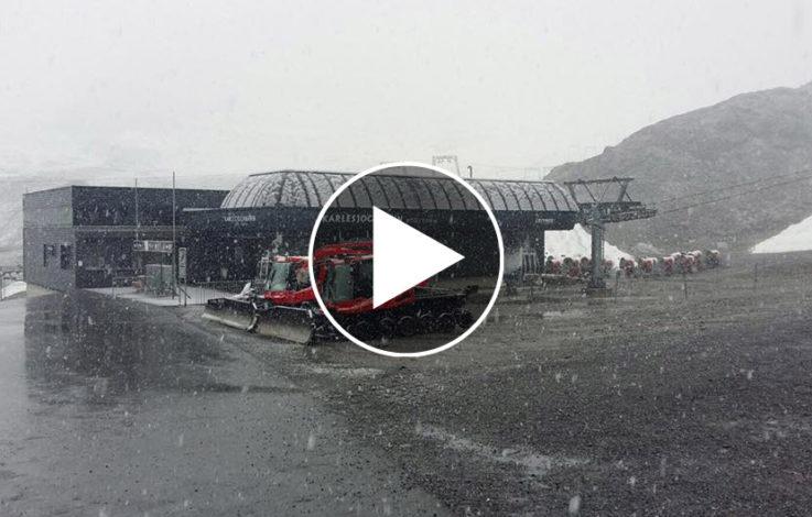 Wenn der Winter plötzlich erwacht – VIDEO