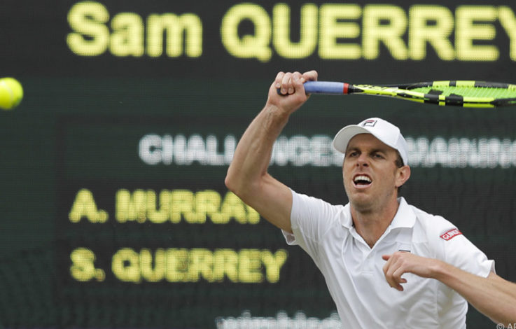 Murray im Wimbledon-Viertelfinale von Querrey besiegt