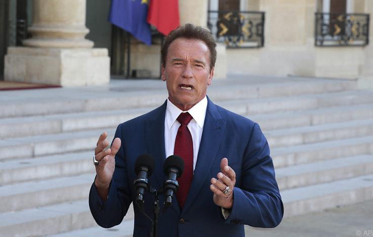 Schwarzenegger an Rechtsextreme: Eure Helden sind Verlierer