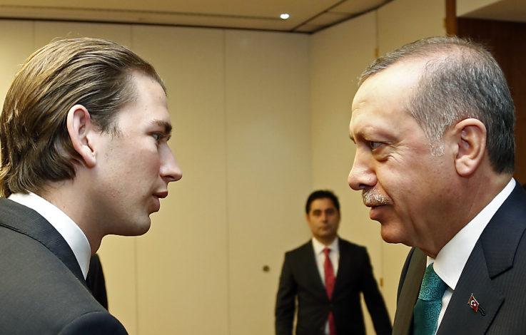 Kurz wirft Erdogan diktatorische Züge vor