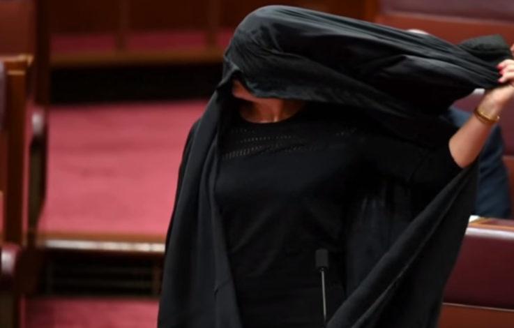 Burka im Senat