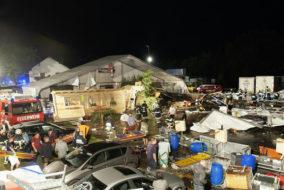 Zwei Tote und dutzende Verletzte waren zu beklagen