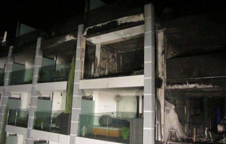 Vinschgau: 5-Sterne-Hotel in Flammen