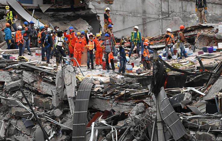 Fünf Tote bei schwerem Nachbeben in Mexiko