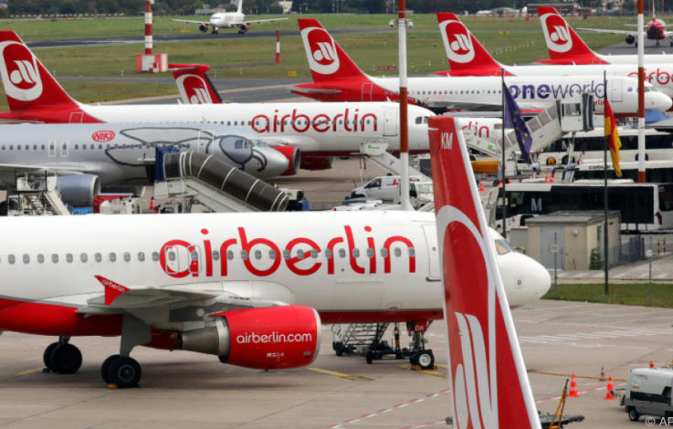 Air Berlin: Mehr als 100.000 Überseetickets verfallen