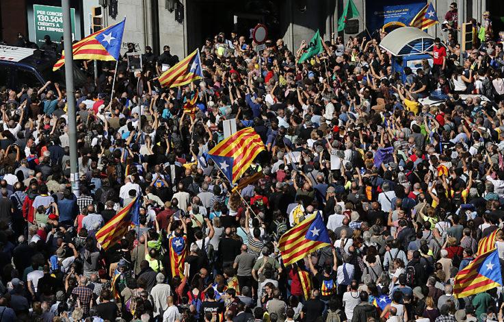 Spanien durchsucht Büros der katalanischen Regionalregierung