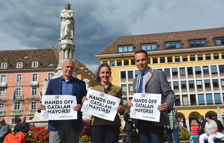 Spanien unterdrückt Katalonien: STF solidarisiert sich