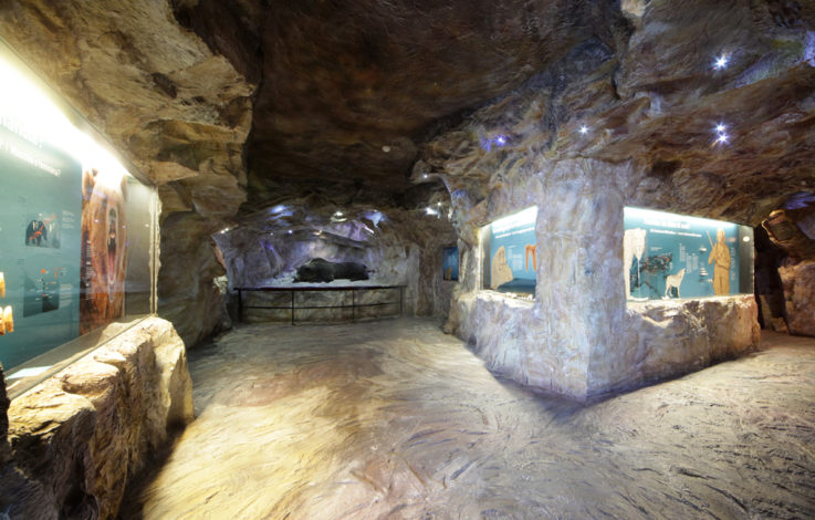 Musei del Tirolo:  Il mondo misterioso delle grotte nelle Dolomiti