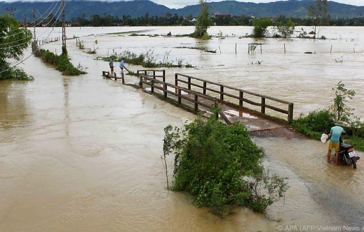 Mindestens 46 Tote bei Überschwemmungen in Vietnam