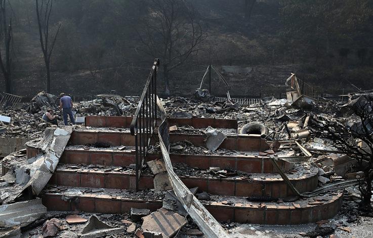 Kein Ende der Buschbrände in Kalifornien absehbar