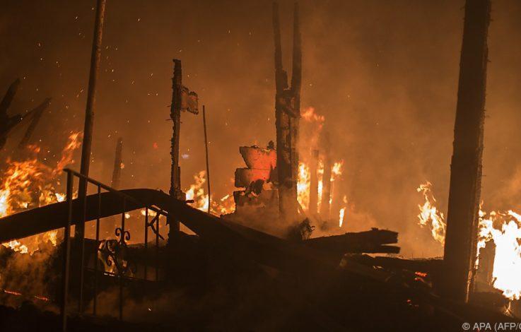 Brände in Kalifornien: Anzahl der Todesopfer stieg auf 40