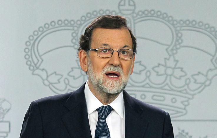 Rajoy kündigt Maßnahmen zur Regierungsübernahme an
