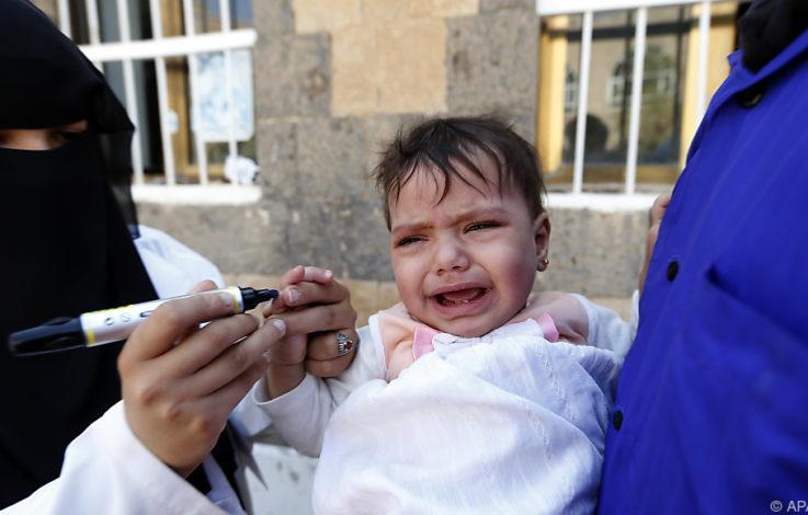 Über elf Millionen Kinder im Jemen auf Hilfe angewiesen
